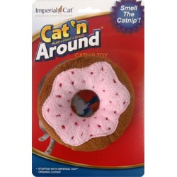 Cat 'n Around Toys (on Hang Card) Donut Catnip Toy
