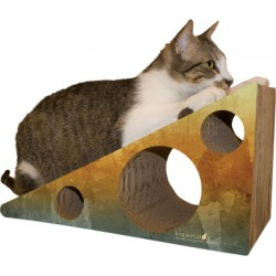 Imperial Cat Wedge Scratch 'N Shape Scratch Pads, Large, Brown Watercolor