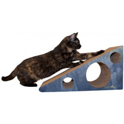 Imperial Cat Wedge Scratch 'N Shape, Large, Blue Watercolor
