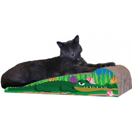 Imperial Cat Scratch 'n Shape Crocodile, Large