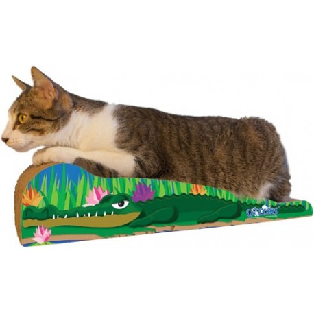 Your cat can wrestle this 'gator and come out on top!