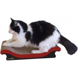 Imperial Cat Scoop Scratch 'n Shape, Victorian Red