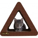 Imperial Cat Triangle Combo Scratch 'n Shape, Pink Polka Dot