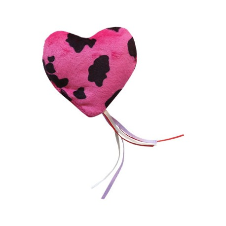Imperial Cat Cat 'n Around, Ribbon Heart Cat Toy