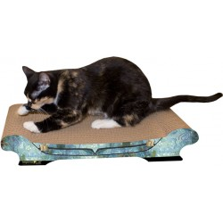 Imperial Cat Comfort Couch Scratch 'n Shape, Antique Blue