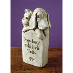 Dogs Laugh With Their Tails Stone