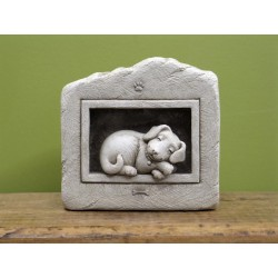 Sleeping Puppy Plaque