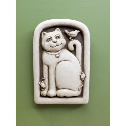 Playing Cat and Mouse Plaque