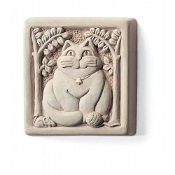 Fat Cat Plaque