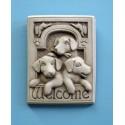 Welcome Puppies Plaque