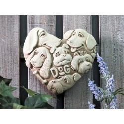 For the Love of Dogs Garden Stone