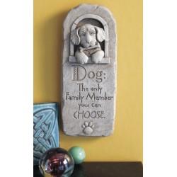 Family Dog Plaque