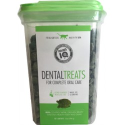 PAWS IQ DENTAL CAT TREAT CATNIP/SALMON