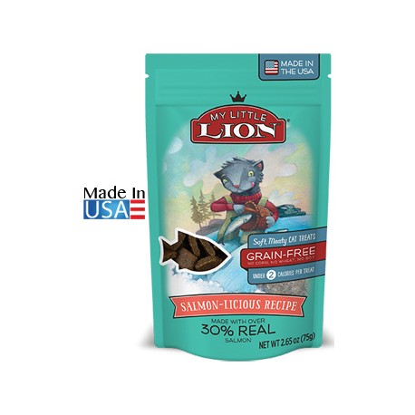 My Little Lion Salmon-Licious Recipe Cat Treats
