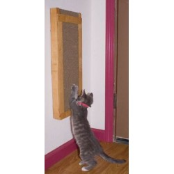 Deluxe Wall-Mount Cat Scratcher