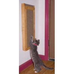 Deluxe Wall-Mount Cat Scratcher