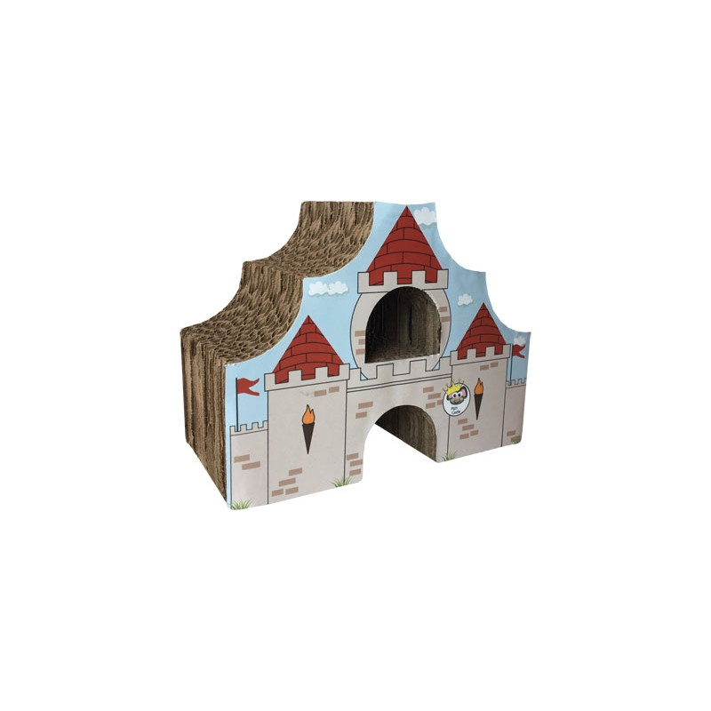 Medium Castle Decoration: Habitat Enhancer For Small Animals Made In USA Castle