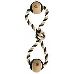 Tug Balls Dog Toy