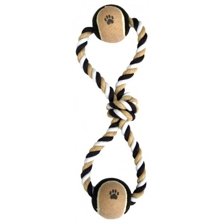 Tug Balls Dog Toy