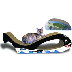 M.A.X Giant Whale Cat Scratcher Combo