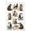 Tabby Kittens Kitchen Towels