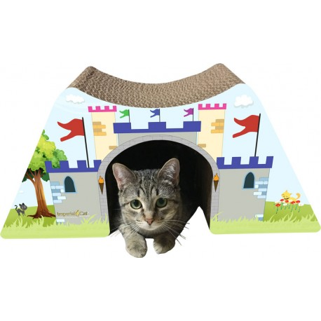 """Cats Love To Crawl Through The 7"""" Tall x 7"""" Wide Opening!"""
