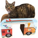 Yippee! Cat Retro Van Cat Scratcher