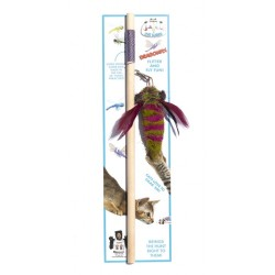 Cat Lure Wand, Dragonfly