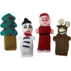 Holiday Catnip Critters, Set of 4