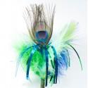 "Go Cat Peacock Sparkler, 18"" stick"