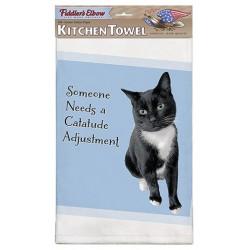 Catatude Adjustment Kitchen Towel
