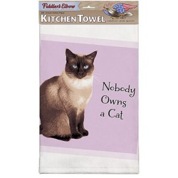 Nobody Owns A Cat Kitchen Towel