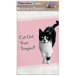 Cat Got Your Tongue Kitchen Towel