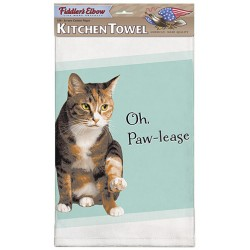Oh Paw-lease Kitchen Towel