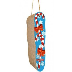 M.A.X. Hanging Candy Cane Cat Scratcher