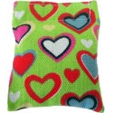 Heart-print Refillable Catnip Pillow Toy