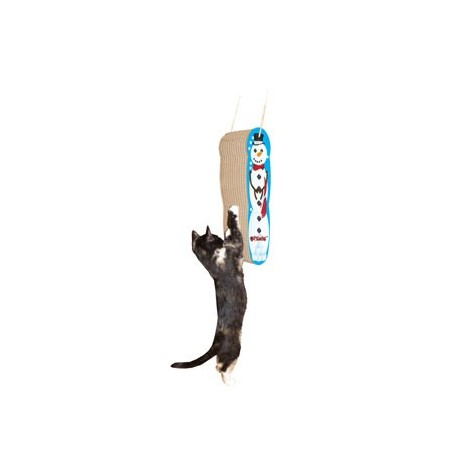 M.A.X. Hanging Snowman Cat Scratcher