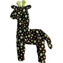 LARGE FLOPPY GIRAFFE DOG TOY