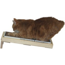 Angled surface cats prefer to scratch. Made in USA!