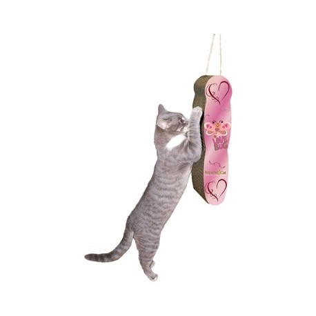 Cats love our Lovebug Scratcher!