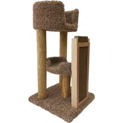 Deluxe Scratch 'N Tree for Cats