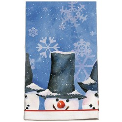 Snowman Oversized Kitchen Towel