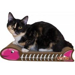 M.A.X. Fishbone Cat Scratcher, Assorted Colors