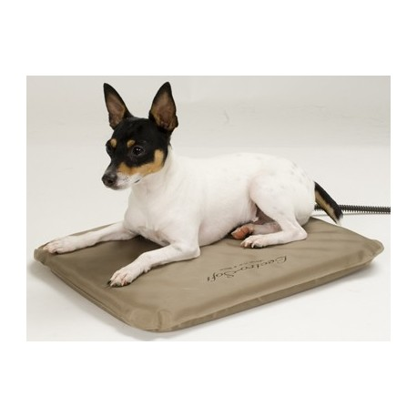This adjustable mattress provides comfort and warmth for your pet!