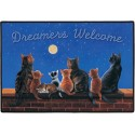 Dreamers Welcome Door Mat