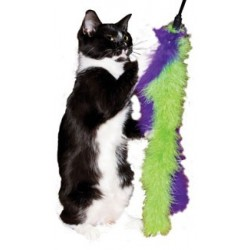 Marabou Streamers Cat Wand Toys, Set of 2
