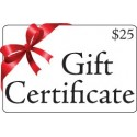 Gift Certificate, $25