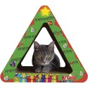 M.A.X. Triangle Christmas Tree Cat Scratcher Set