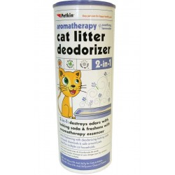 Sprinkle onto litter - smells great!