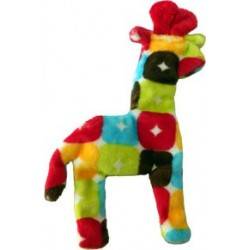 MINI FLOPPY GIRAFFE DOG TOY